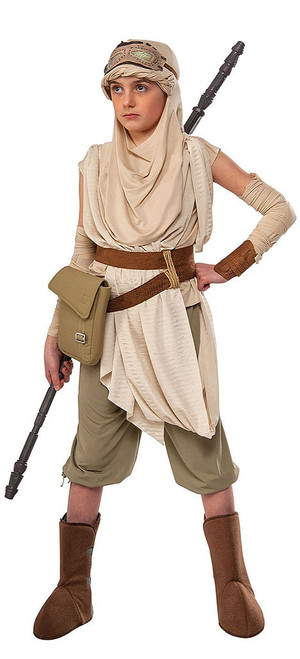 Premium Girls Rey Costume