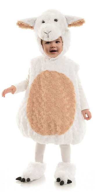 Plush Lamb Toddler Costume