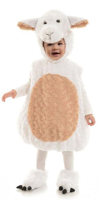 Plush Lamb Toddler Costume