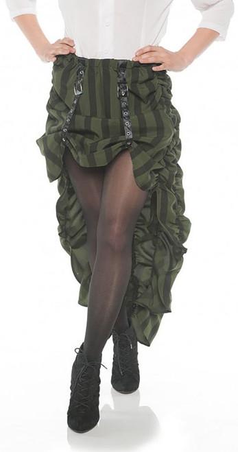 Steam Punk Skirt Green
