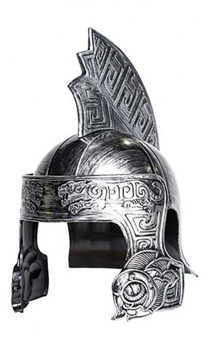 Silver Centurion Tiger Helmet