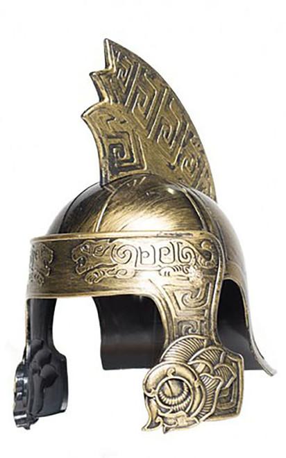 Gold Centurion Tiger Helmet