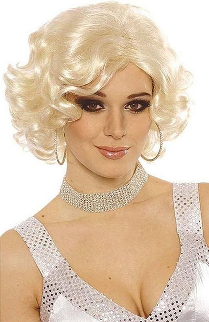 Blonde Hollywood Starlet Wig