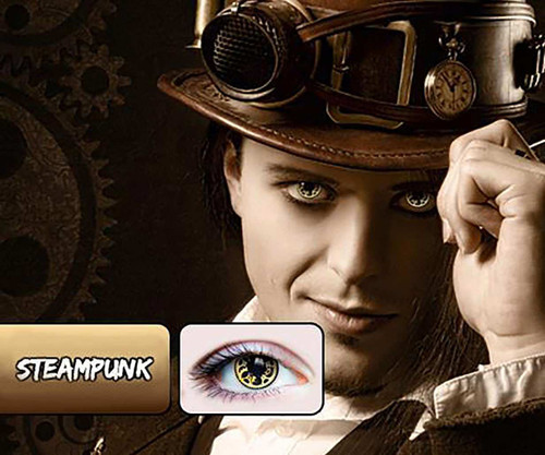Steampunk Contact Lens