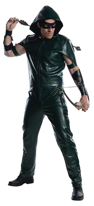 Green Arrow Mens TV Series Deluxe Costume