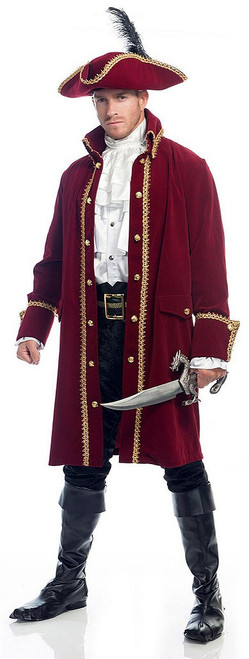 Captain Hook Pirate Adult Costume