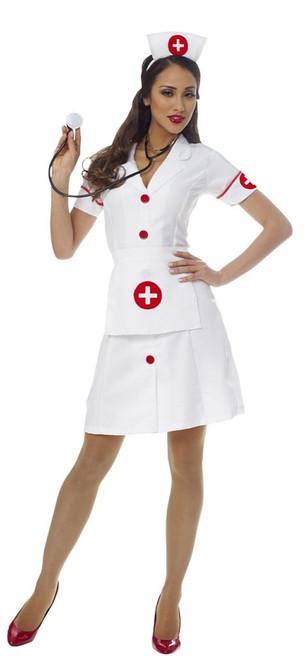 Classic Nurse Womens Costume