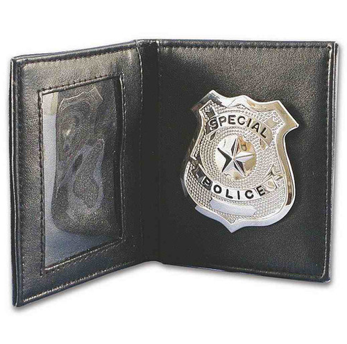 Police Wallet With Badge