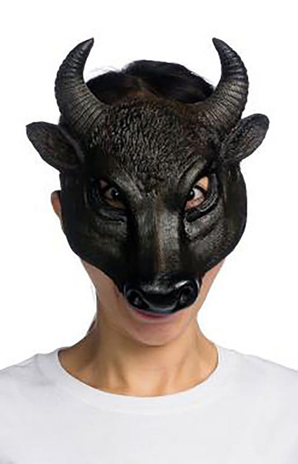 Form Fitting Bull Mask