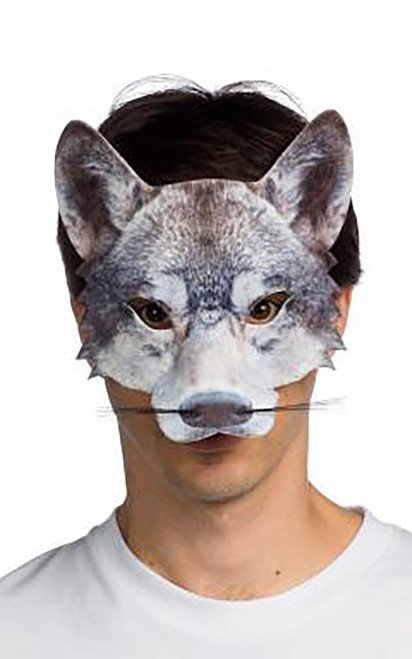 Form Fitting Wolf Mask