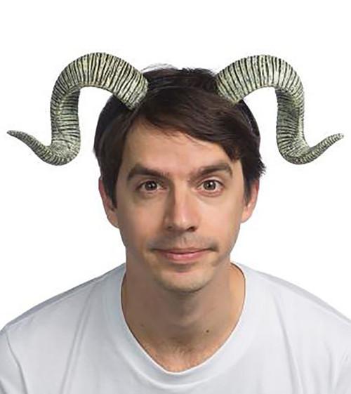 Ram Horns on Headband