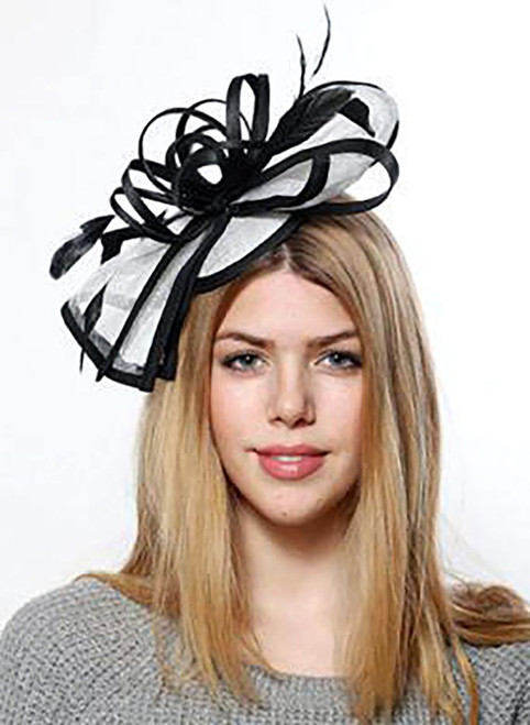Bow Fascinator Clip-on Hat