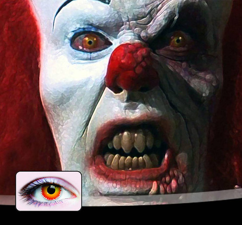 Pennywise Contact Lenses