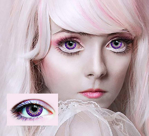 Ethereal Lilac Contact Lenses