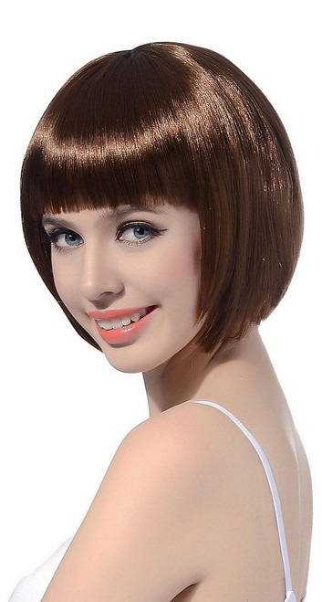 Short Bob Brown Wig