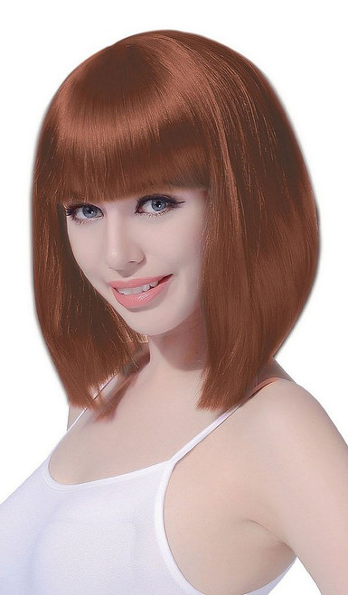 Medium Bob Brown Wig