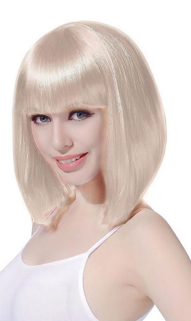 Medium Bob Blonde Wig