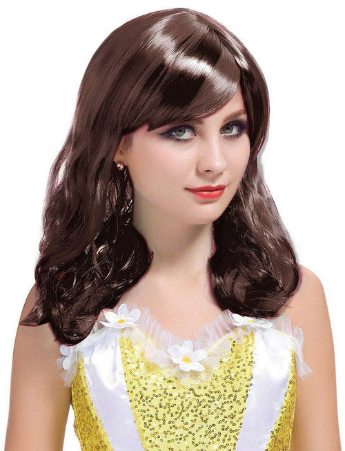 Short Curl Brown Wig