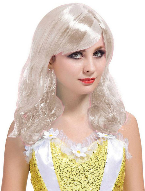 Short Curl Blonde Wig
