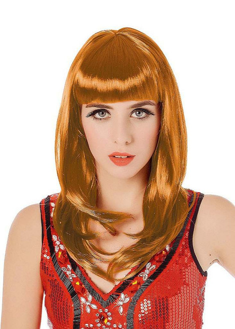 Long Bob Brown Wig
