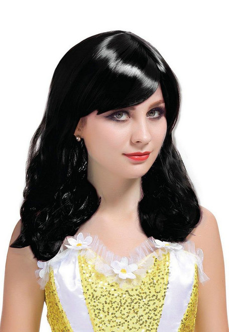 Short Curl Black Wig