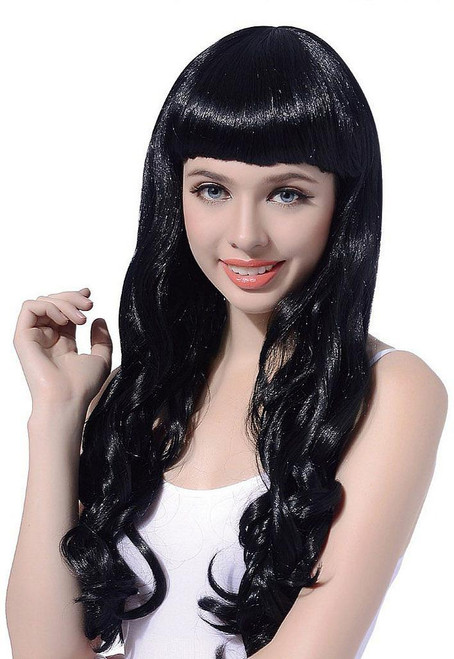 Long Curl Black Wig