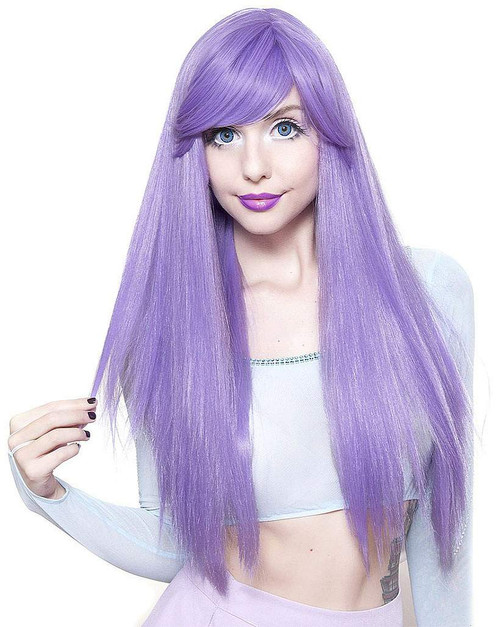 Bella Collection Lavender Wig