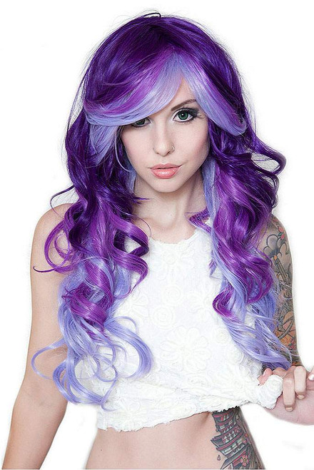 Triflect Purple Possession Wig