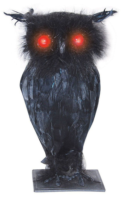 Light Up Owl With Sound 10""