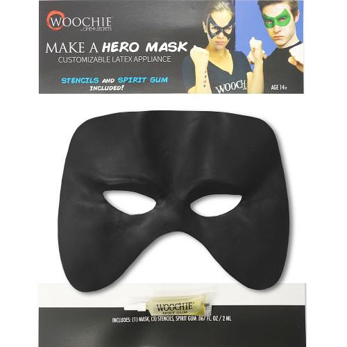 Blue Customizable Hero Mask
