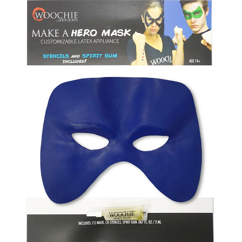 Green Customizable Hero Mask