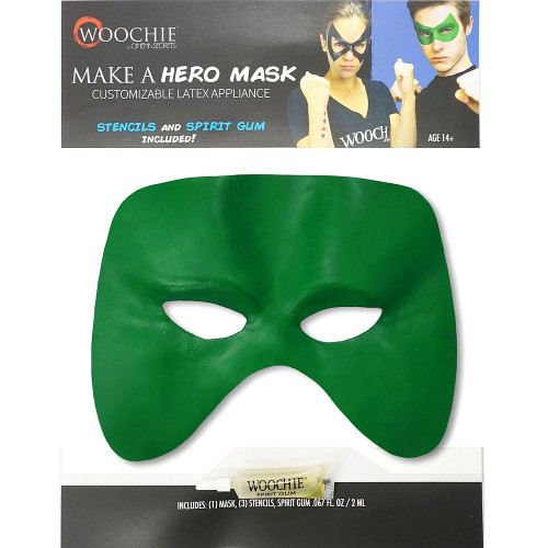 Black Customizable Hero Mask