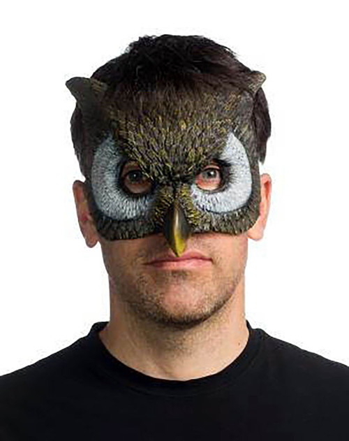 Form Fitting Owl Mask