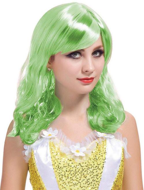 Short Curl Green Wig
