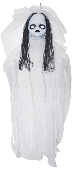 Creepy White Doll 36""