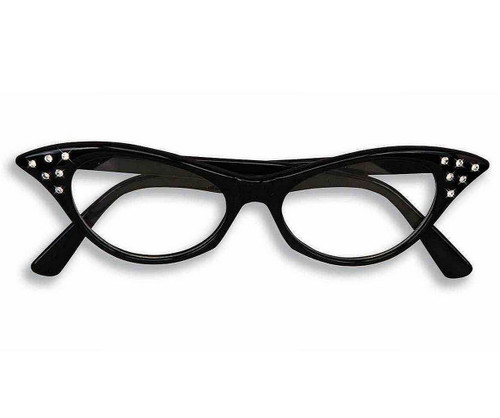 50s Rhinestone Cat Glasses