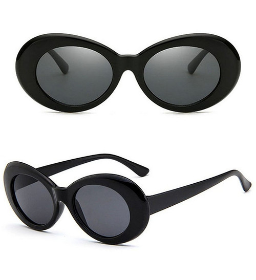 Black Mod Glasses