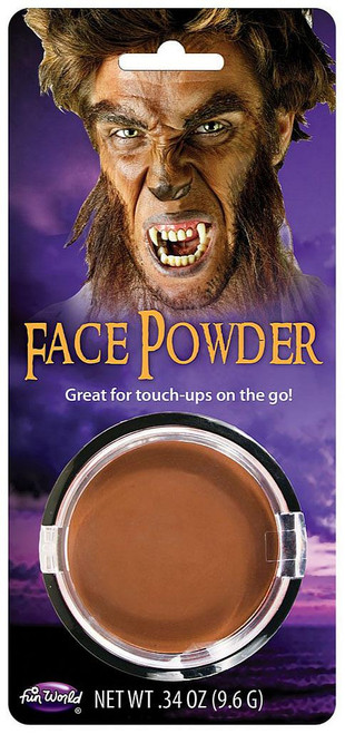 Pressed Powder Make-Up Brown