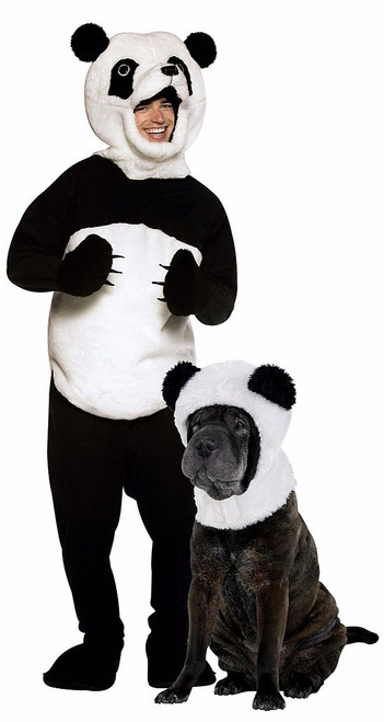 Panda Costume with Pet