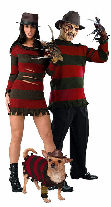 Freddy Krueger Costume with Pet