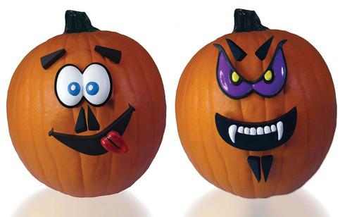 Mr. Pumpkin Faces Kit Purple Eyes