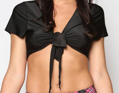 School Girl Black Top