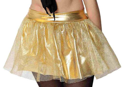Gold Fishnet Tutu