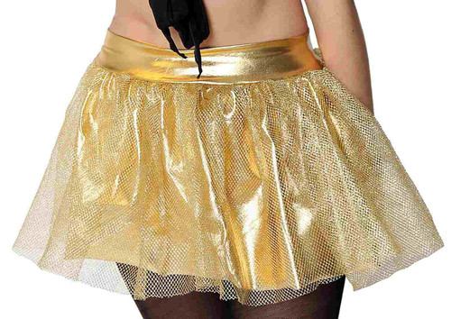 Gold Fishnet Tutu