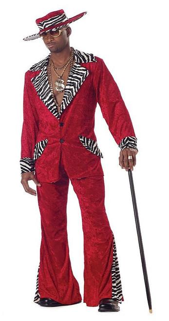 Pimp Red Costume