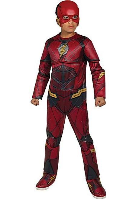 The Flash Justice League Child Costume