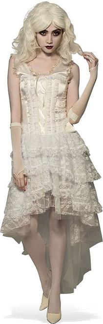 White Goth Gown