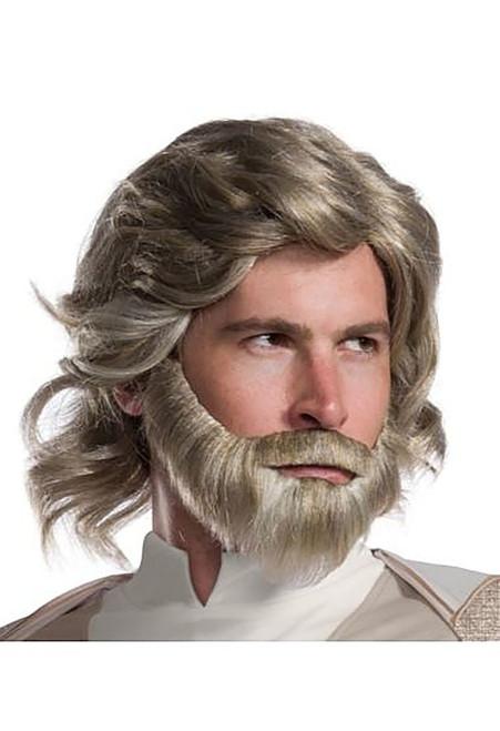 Adult Luke Skywalker Jedi Wig And Beard