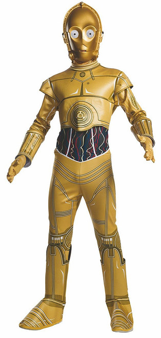 C3Po Jumpsuit Child Costume