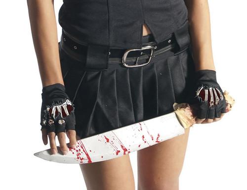Zombie School Girl Gloves